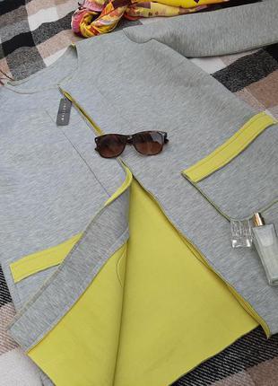 Кардиган кофтан пиджак жакет блейзер мягкий как паралон держит форму