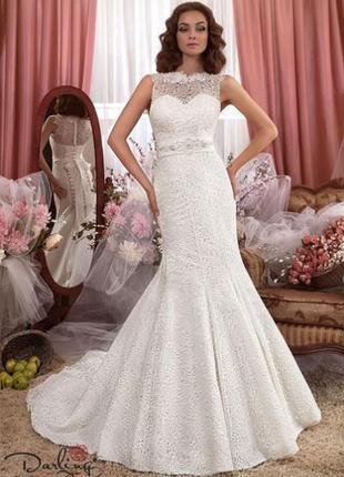 Весільна сукня (колекції darling)рибка s-m-l