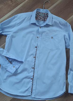 Рубашка длинный рукав от ted baker 48-50 размер