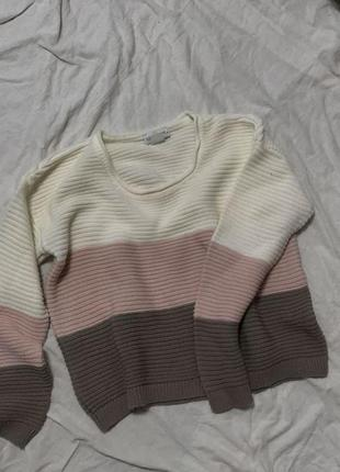 Кофта/свитер/свитшот в рубчик laura kent
