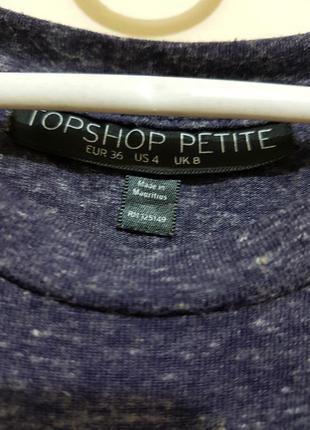 Коротка сукня topshop2 фото