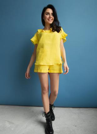 Костюм lolita yellow