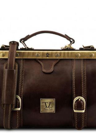 Кожаная сумка-саквояж tuscany leather mona-lisa