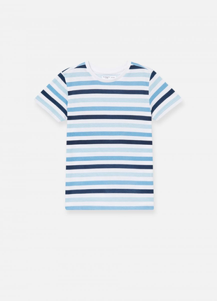 Базовая футболка футболочка в полоску полосочку
