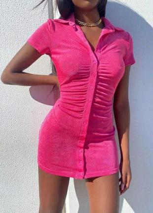 Платье плаття сукня спорт велюр