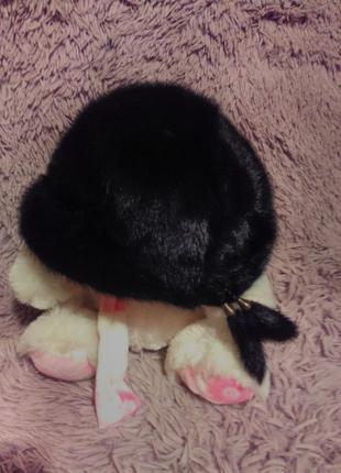 Норковый беретик