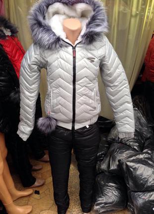 Зимний костюм ( куртка+ штаны )