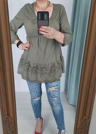 Шикарна хлопковая блуза