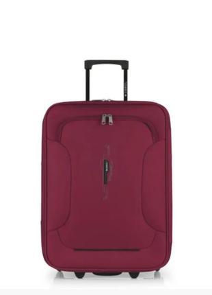 Двухколесный текстильный чемодан gabol, испания, оригинал