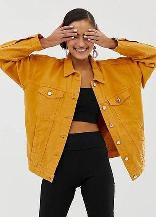 Роскошный джинсовый пиджак трендового цвета