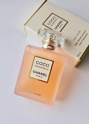 Духи chanel coco mademoiselle l'eau privée - night fragrance 100 ml оригинал