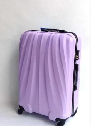 Качественный чемодан! davinci, италия из прочного пластика