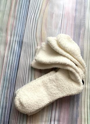 Тёплые махровые носки