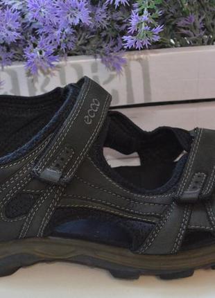 Кожаные сандалии ecco р. 46 по стельке 30 см