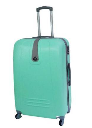 Качественный большой чемодан! ormi, италия, из прочного пластика