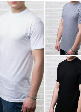 Базовые белые футболки тм ezgi турция