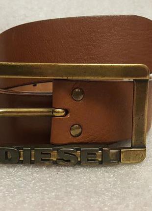 Кожаный ремень diesel