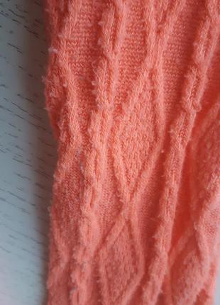 Комплект неон оранжевый, 5-6 лет, crazy8, кофта колготы свитер узор полоска 110-116 см3