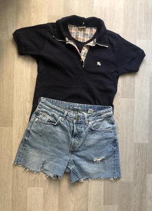 Комплект футболка поло и шорты