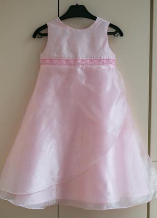 Нарядное праздничное новогоднее платье mothercare