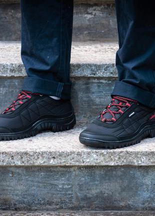 Мужские кроссовки спорт черная болонка (z-402)