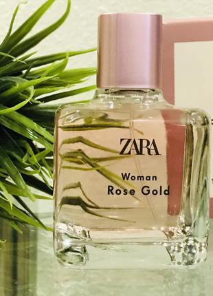 Парфюмерная вода  zara woman rose gold 100 мл (3,4 fl. oz)