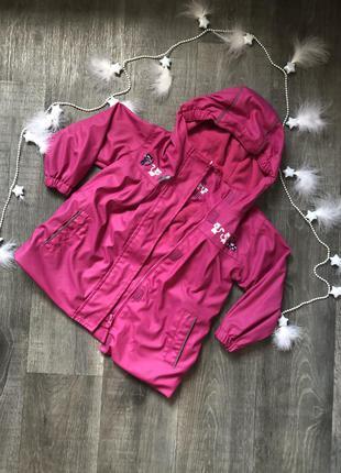 Детская ветровка/демисезонная куртка / дождевик x-mail