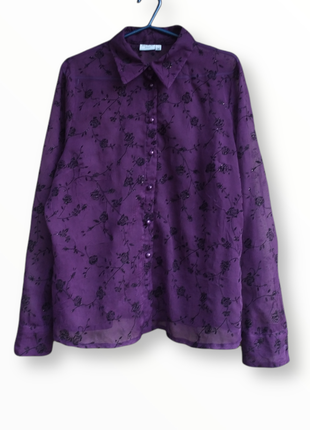 ‼️ summer sale ‼️шифоновая рубашка