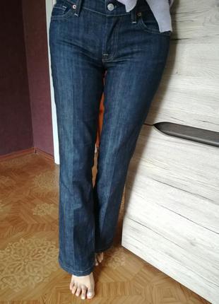 Американские джинсы клеш