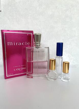 Lancome miracle пробник