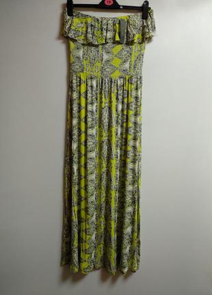 Новое трикотажное макси платье 50-52 размера