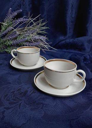 Кофейные пары нежность чашка кофейная с блюдцем дулево фарфор дулевский фарфоровый завод ссср советский винтаж позолота