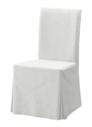 Чехол на стул henriksdal натуральный хлопок ikea