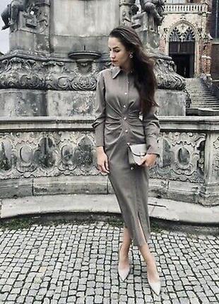 Платье с шерстью zara