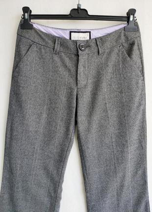 Классические серые офисные брюки штаны esprit размер 38 м