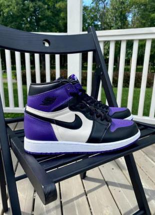 Nike air jordan retro 1 высокие женские кроссовки