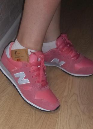 Оригинальные кроссовки new balance 39-40 размер 26см кожа замш