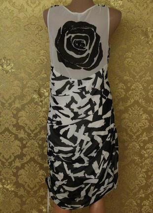 Шифоновое платье,на спине расшитая роза, вещи в наличии💚+скидки, заходите💚