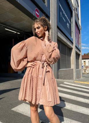 Платье + туника двойка