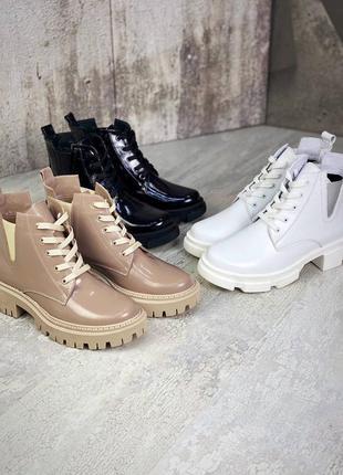 Ботинки ботильоны натуральная кожа