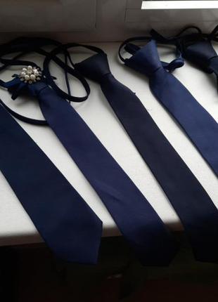Школьные галстуки 5 шт