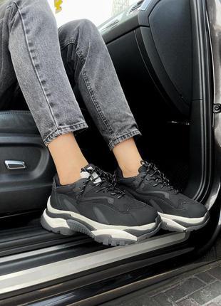 Шикарные женские кроссовки ash black наложка