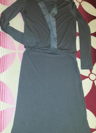 Трикотажное платье inwear цвета кофе с молоком