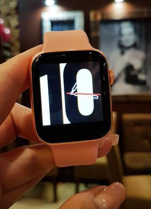 Смарт часы smart watch x 8 пудра / три цвета в наличии /