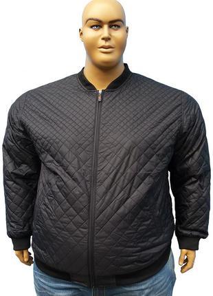 Большого размера осенняя мужская куртка пилот.