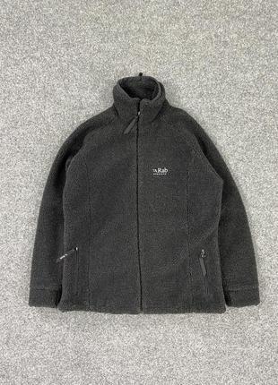 Флисовая курточка rab