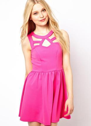 Платье river island, розовое, новое, плаття