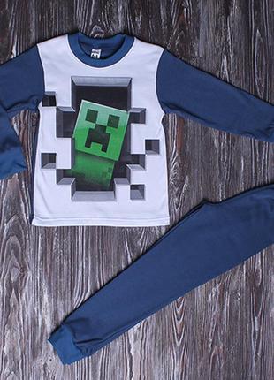 Отличного качества пижамы для мальчиков майнкрафт, аниме, амонг ас