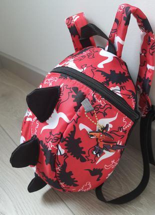 Детский рюкзак дитячий з динозаврами сумка для дівчинки хлопчика