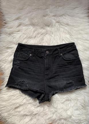 Шорты джинсовые на высокой талии 🖤